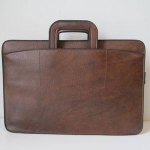 PEGASUS Briefcase Handbag Laptop Vintage Hand Bag